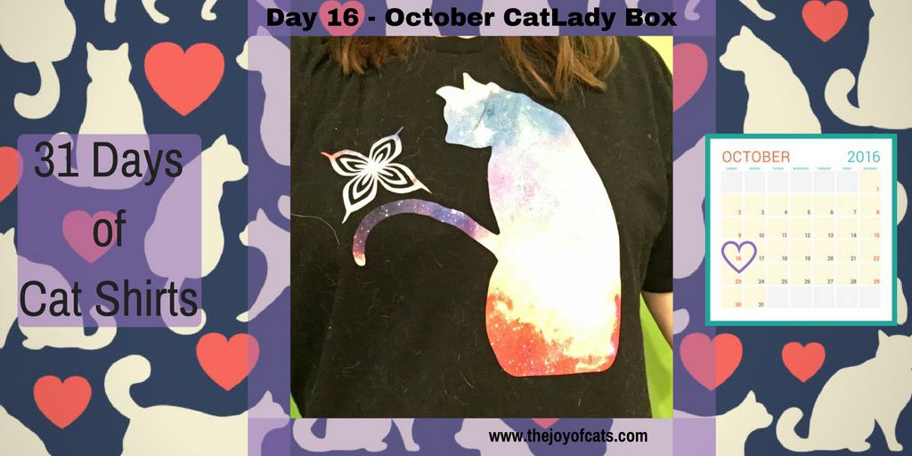 31 Days of Cat Shirts - Day 16 - Cat from Bleach anime