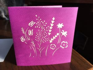 Flower Card Outside